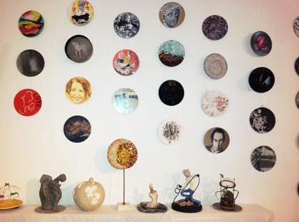 Exposition des Emiles 2013 - sur format imposé circulaire